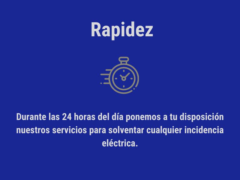 Electricistas reparación rápida