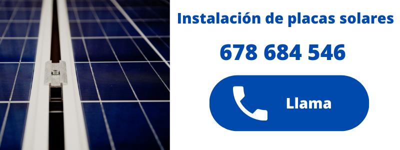 Instaladres de placas solares en Calpe