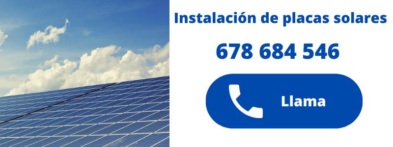 empresa instaladora de placas solares en Moraira