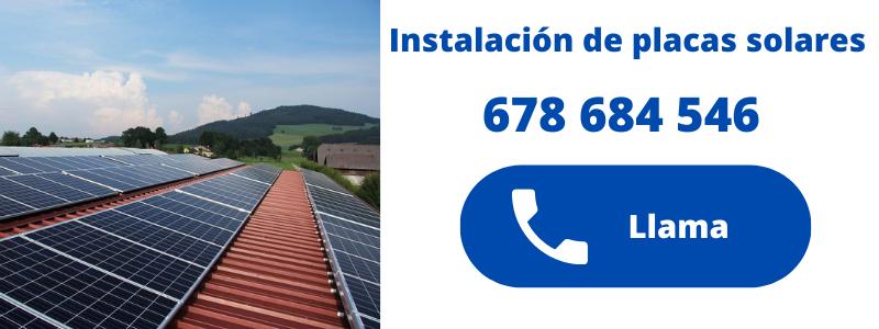 Empresa instaladora de placas solares en Altea